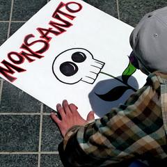 protesting monsanto in san francisco