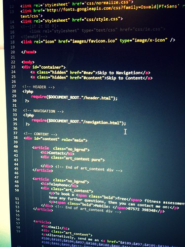 Today is all about...coding, just coding