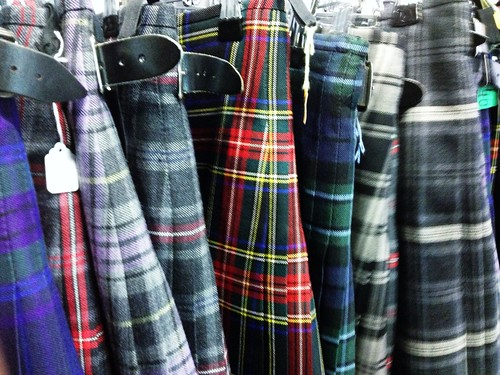 Today is all about...kilt buying
