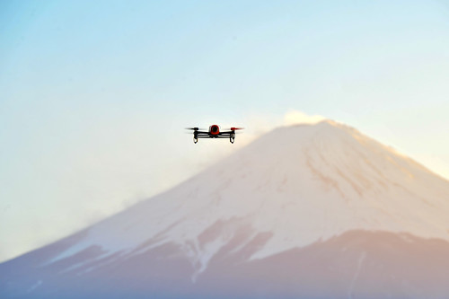 Parrot Bebop Drone & Mt. Fuji