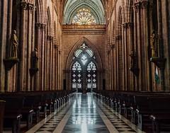 Day 442. It's said when La Iglesia La Basilica is finished the world will come to an end. #theworldwalk #travel #ecuador