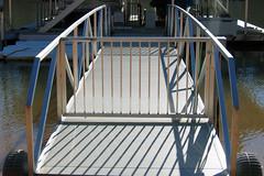 6 foot aluminum gangway from Wahoo