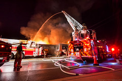 "4th Alarm Fire - Toronto • <a style=""font-size:0.8em;"" href=""http://www.flickr.com/photos/65051383@N05/9965279433/"" target=""_blank"">View on Flickr</a>"