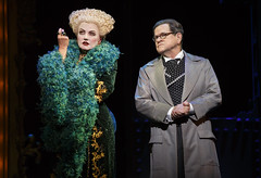 Alison Fraser and Tim Kazurinsky in the Broadway Sacramento presentation of WICKED at the Sacramento Community Center Theater May 28 - June 15, 2014. Photo by Joan Marcus.