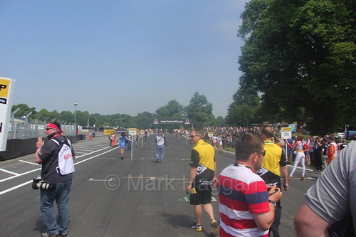 The grid at Oulton Park during the 2016 BTCC weekend