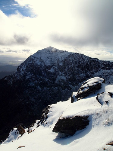 Snowdon Enveloped by Snow