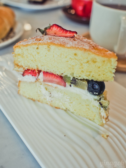 Maple & Market Bakery Victorian Sponge Cake