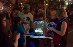 Light up the night at one of our Official Guest Stations