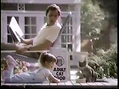 VINTAGE 80'S KITTEN CHOW COMMERCIAL W JUDITH BARSI_00002