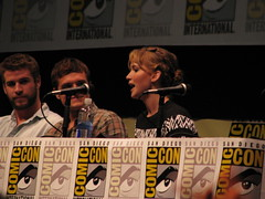 SDCC13 - Hunger Games: Catching Fire panel