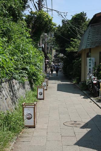 江島神社(参道)(Enoshima Shrine, Kanagawa, Japan)