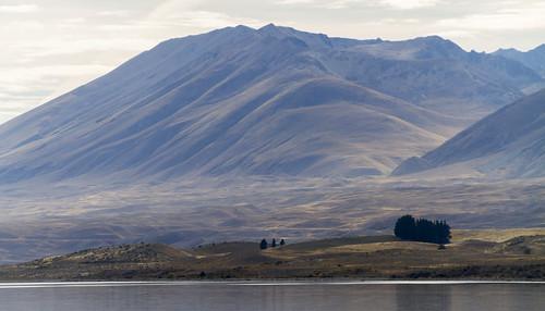 Berge bei Lake Tekapo