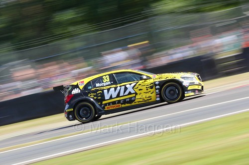 Adam Morgan during the BTCC weekend at Oulton Park, June 2016