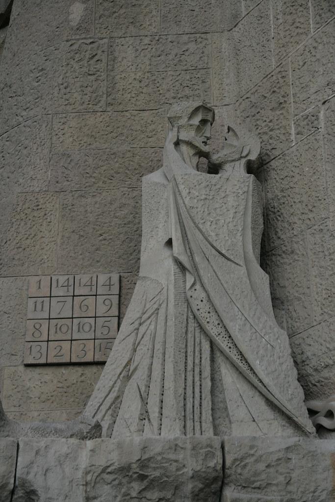 Le carré magique (Sagrada Familia)