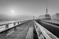 Misty Morning in Nieuwpoort - Eric H HDR