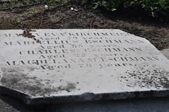 Kirshmeier stone on ground