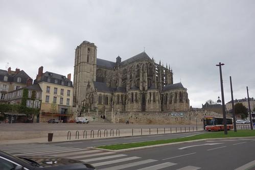 La cathédrale du Mans est très impressionnante !
