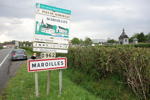 Mercredi sur la route, Pelico est passé par Maroilles, la ville dont vient le fromage éponyme !