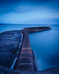 "Here comes the night,  Burghead Harbour • <a style=""font-size:0.8em;"" href=""http://www.flickr.com/photos/26440756@N06/14172783214/"" target=""_blank"">View on Flickr</a>"