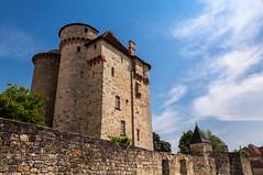Le château de Saint-Hilaire à Curemonte, en Co...