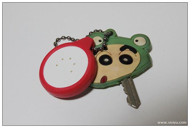 [體驗]銅板大小tinyFinder.藍牙追踨器~警報器防走失 @VIVIYU小世界