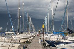 Thunder Clouds at Fambridge Yacht Haven