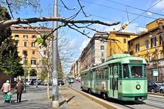 Ancient Roman tram
