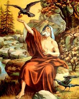 OT1117.Elijah fed by Ravens