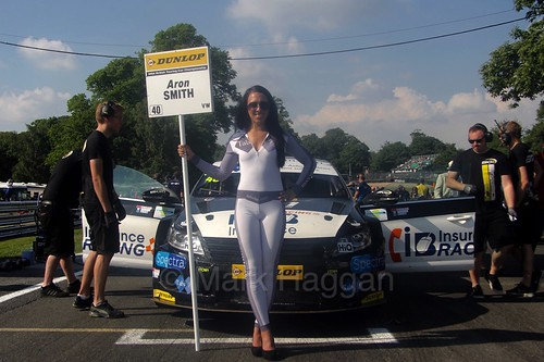 Árón Smith  during the BTCC weekend at Oulton Park, June 2016