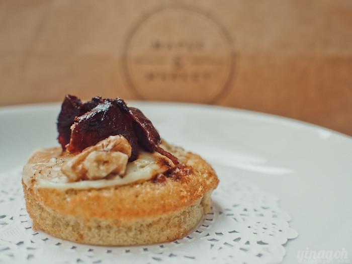 Maple & Market Bakery Bacon Cupcake