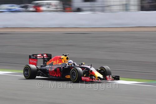 Daniel Ricciardo in Free Practice 2 at the 2016 British Grand Prix
