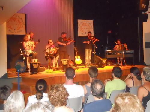 Acadia Trad School Concert 2013. Emmanuelle LeBlanc, Ryan McGiver, Albert Alphonso, Troy MacGillivray, Pascal Miousse, Pastelle LeBlanc