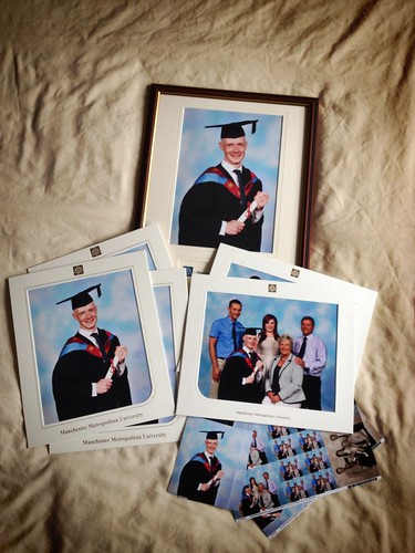 Today is all about...graduation photos finally arriving