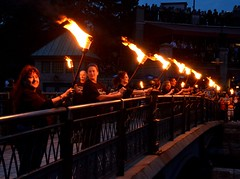 Ring of Fire torch bearers
