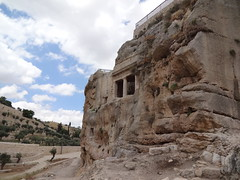 Tombs in the Kidron Valley