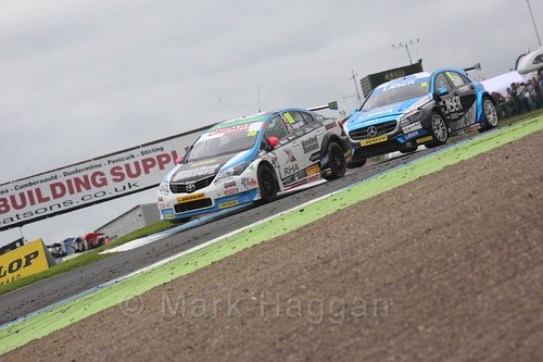 Tom Ingram in BTCC race 2 during the Knockhill Weekend 2016