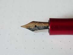 PB010898.JPGKaweco Allrounder Red Fine Nib - Nib