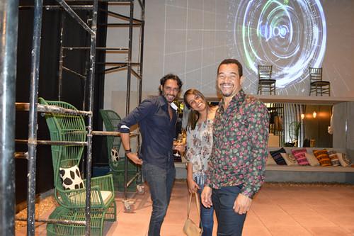 Flávio Osamu, Damira e Joel Lima