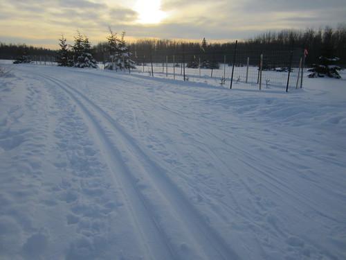 The new ski trail