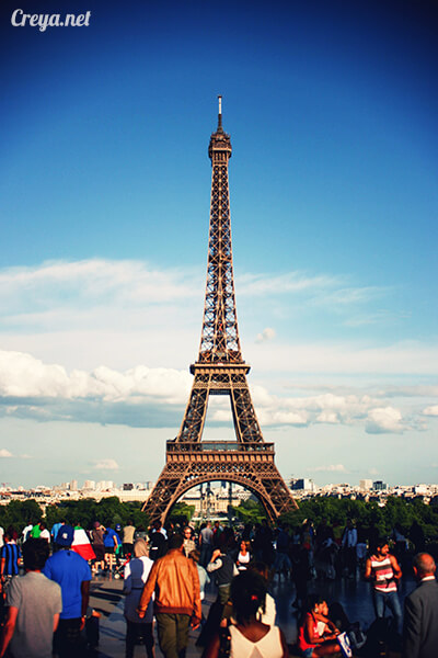 2016.10.09 | 看我的歐行腿| 艾菲爾鐵塔,五個視角看法國巴黎市的這仙燈塔 04
