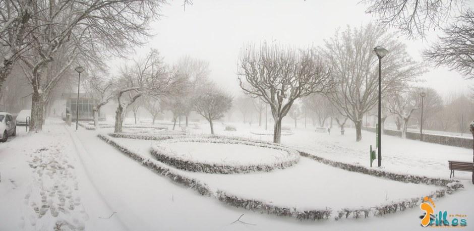 Neve na Cidade da Guarda - janeiro - 2015-62