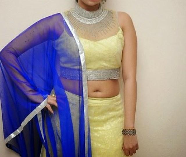 Actress Priyanka Big Navel Show Stills