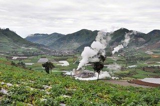 dieng plateau - java - indonesie 22