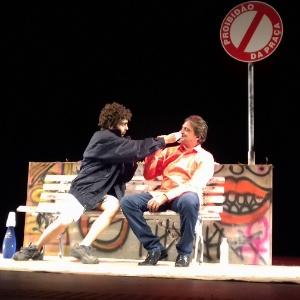 """Humoristas da """"Praça"""" contam no teatro piadas censuradas por Carlos Alberto"""