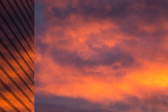 Brussels North Station - Burning Sky (Unprocessed)