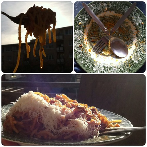 #Spaghetti #Sunshine #Bolognese