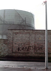 """Gasometer - Thornhouse Avenue - 1981 ps • <a style=""""font-size:0.8em;"""" href=""""http://www.flickr.com/photos/36664261@N05/15716876835/"""" target=""""_blank"""">View on Flickr</a>"""