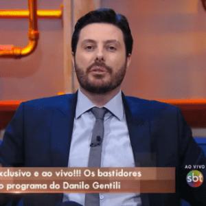 Danilo Gentili diz que teve dúvida e medo antes de aceitar proposta do SBT