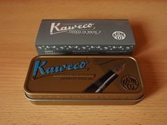Kaweco AL Sport Stonewashed Blue - Closed Box