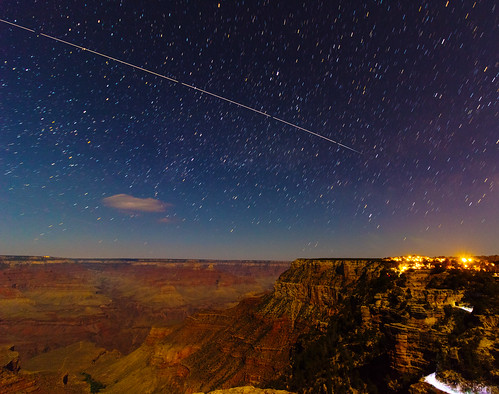 ISS Over The Grand Canyon